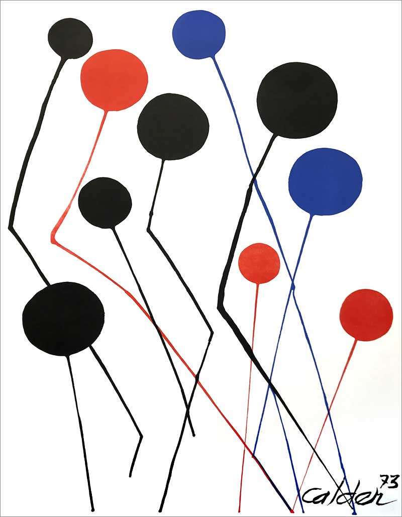 Lithographie de Calder