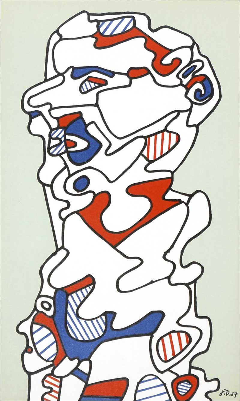 Lithographie de Dubuffet