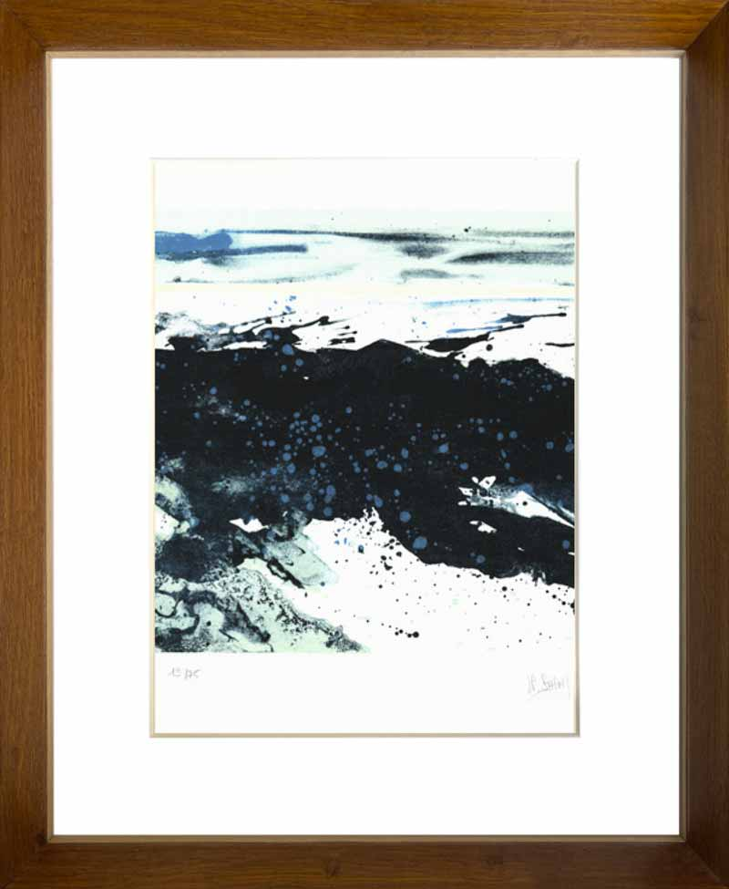 indrammet litografi af Jean Pierre Stholl