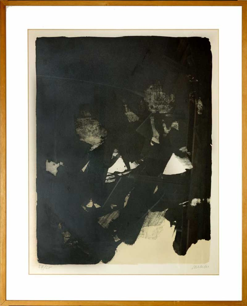 lithographie de soulages